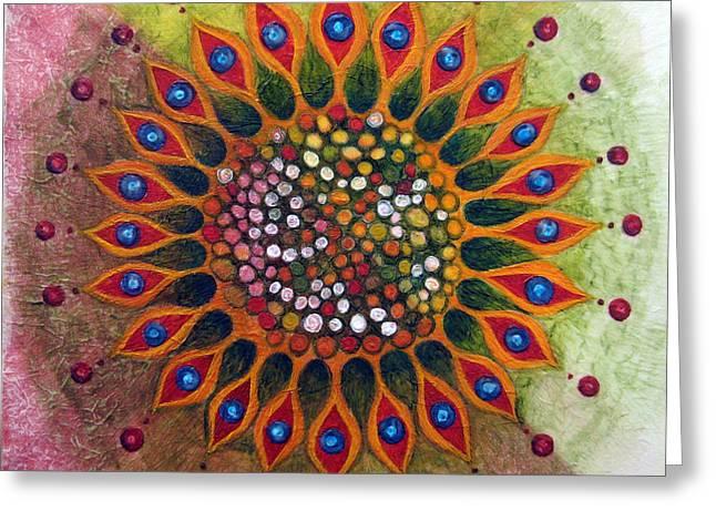 Metamorphosis B Greeting Card by Janelle Schneider