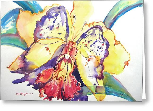 Metamorphosis Greeting Card by Estela Robles