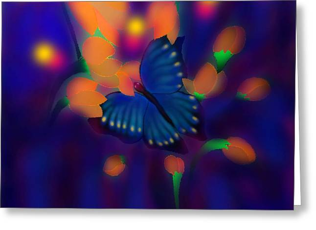 Metamorphosis Greeting Card by Latha Gokuldas Panicker