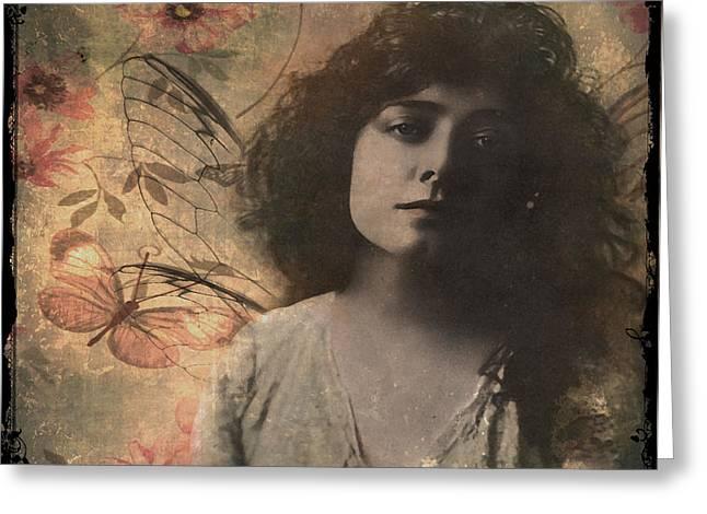 Metamorphosis Greeting Card by Marie  Gale