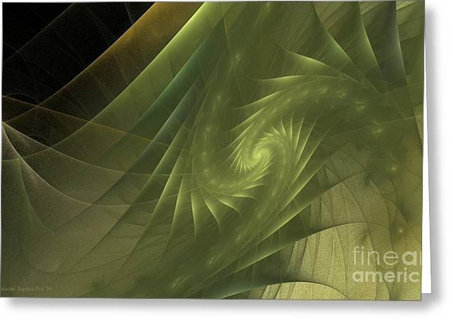 Metamorphosis Greeting Card by Sandra Bauser Digital Art