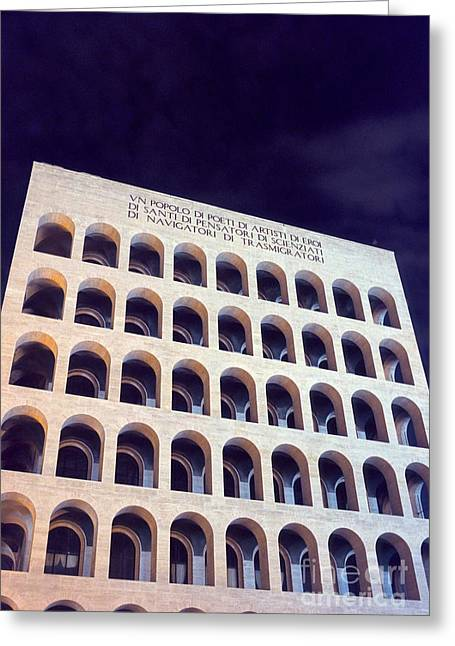 Metaphysical Arches I Greeting Card by Fabrizio Ruggeri