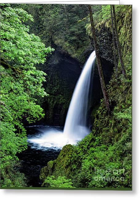 Metlako Falls Waterfall Art By Kaylyn Franks Greeting Card