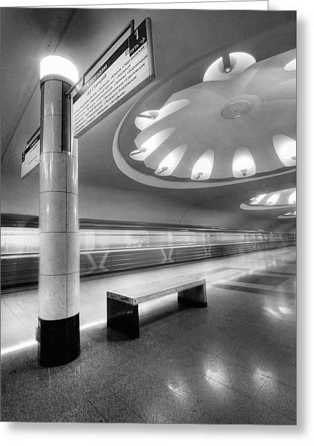 Metro #1591 Greeting Card