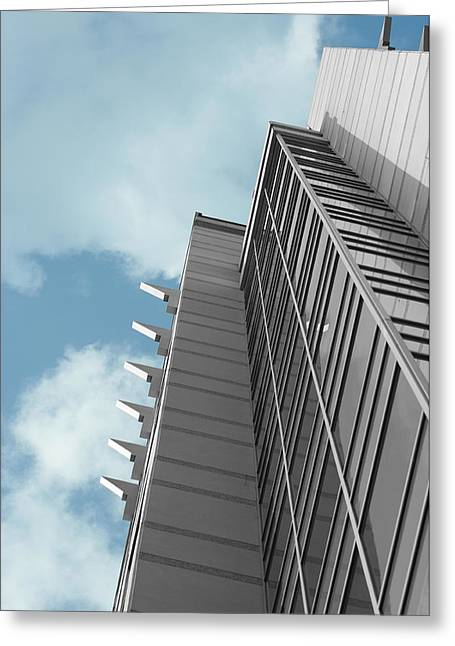 Metro Greeting Card by Don Prioleau