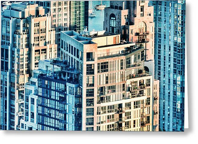 Metropolis Greeting Card by Amyn Nasser