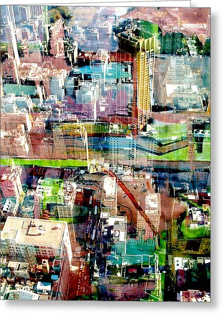 Metropolis II Greeting Card