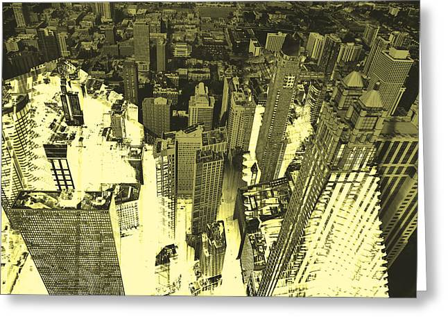 Metropolis Iv Greeting Card