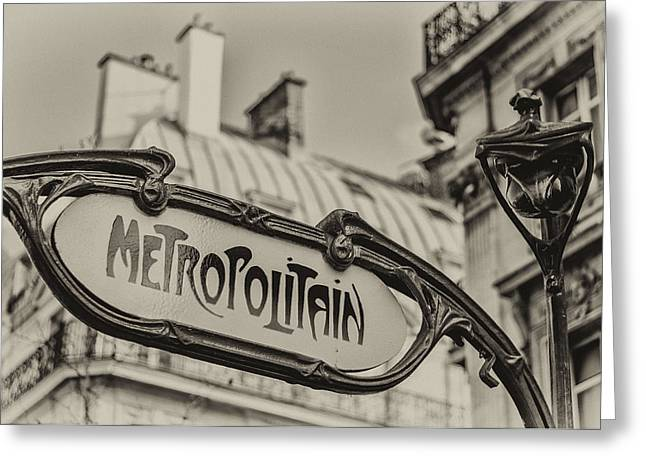 Metropolitain Greeting Card