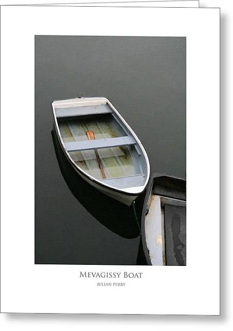 Mevagissy Boat Greeting Card