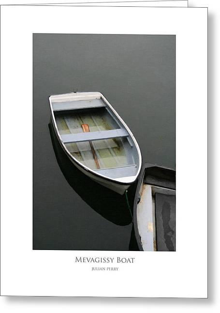 Mevagissy Boat Greeting Card