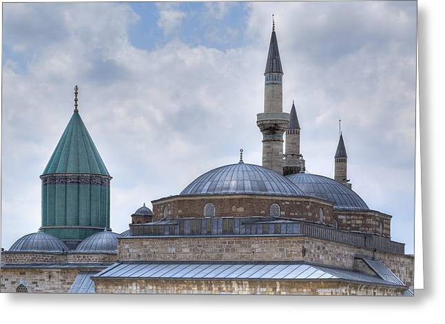 Mevlana Museum Konya - Turkey Greeting Card by Joana Kruse