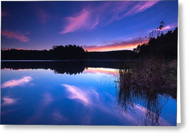 Mew Lake Sunset Greeting Card