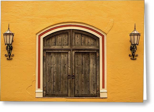 Mexican Door Greeting Card
