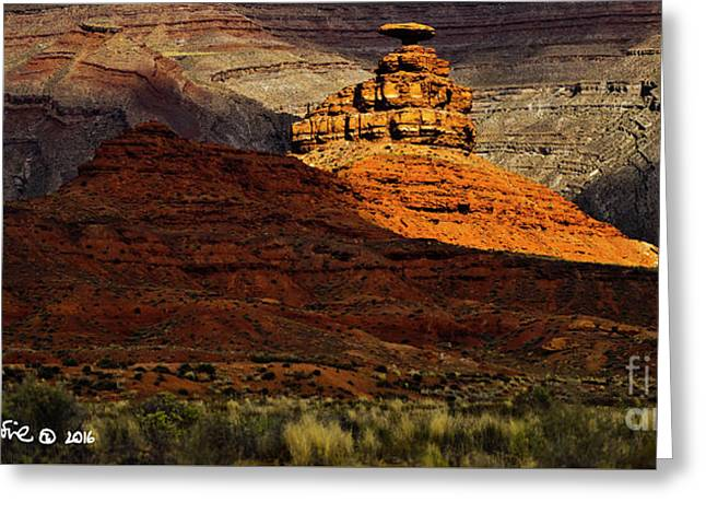 Mexican Hat 1 Greeting Card