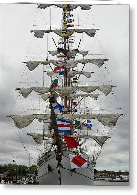 Mexican Navy Ship Greeting Card