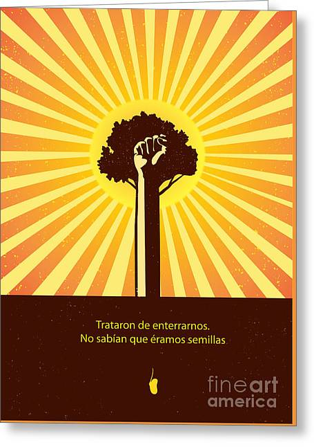 Mexican Proverb Greeting Card