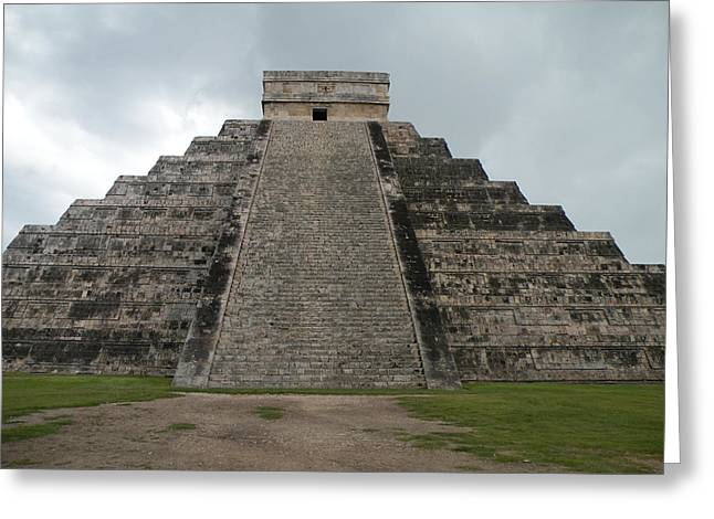 Greeting Card featuring the photograph Mexico Chichen Itza by Dianne Levy