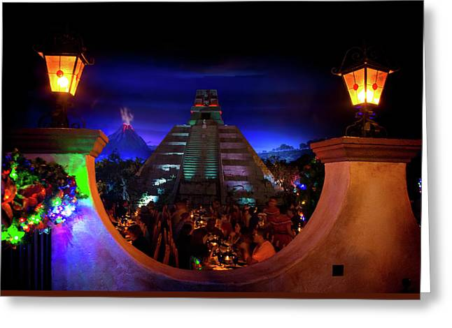 Mexico Pavilion At Epcot Greeting Card
