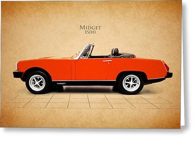 Mg Midget 1500 Greeting Card by Mark Rogan
