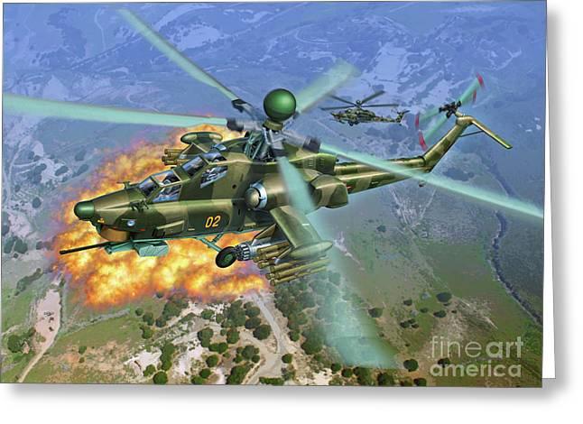 Mi-28 Havoc Greeting Card