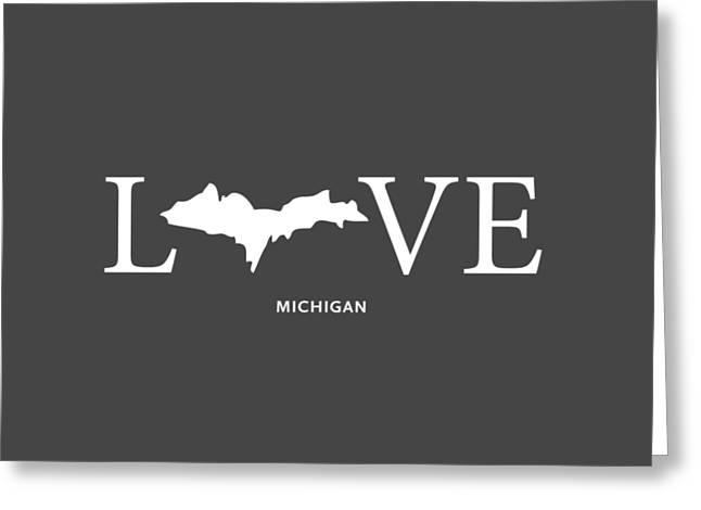 Mi Love Greeting Card by Nancy Ingersoll