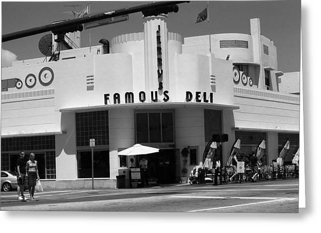 Miami Beach - Art Deco 76 Greeting Card