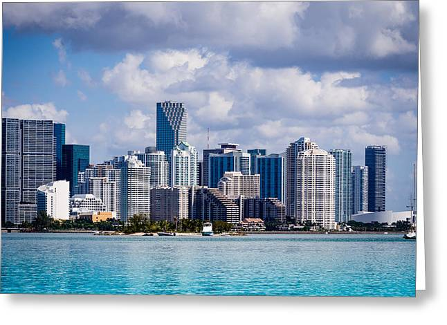 Miami Blues Greeting Card