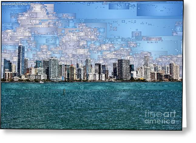 Miami, Florida Greeting Card