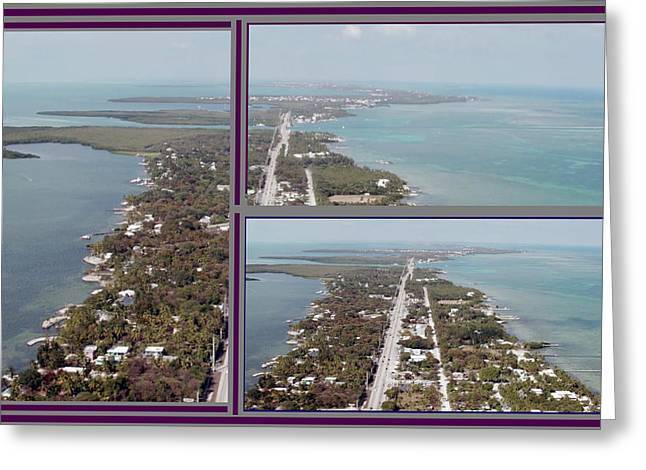 Miami Heat Located 90 Miles South Of Miami On The Island Chain Of Islamorada Greeting Card