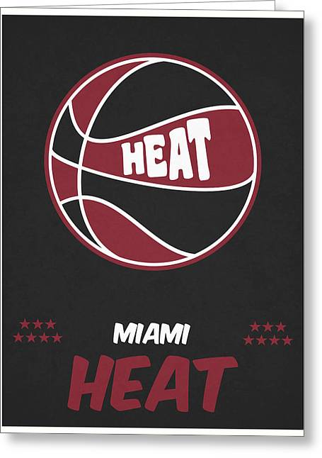 Free association greeting cards page 11 of 17 fine art america miami heat vintage basketball art greeting card m4hsunfo