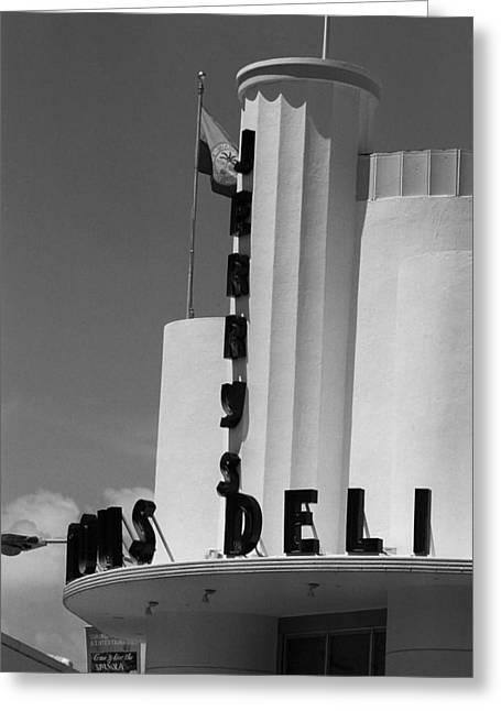 Miami South Beach - Art Deco 77 Greeting Card
