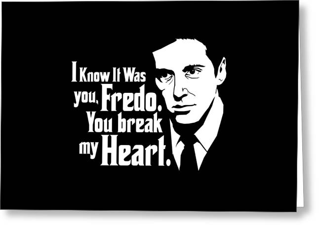 Michael Corleone Greeting Card