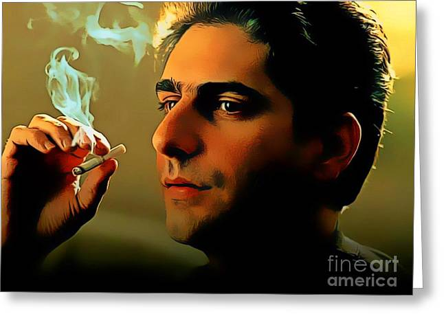 Michael Imperioli As Chris Greeting Card by Pd