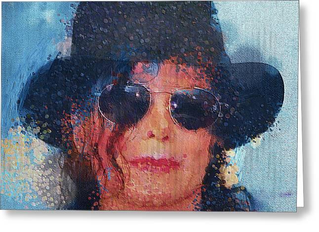 Michael Jackson 011 Greeting Card by Yury Malkov