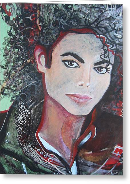 Michael Greeting Card