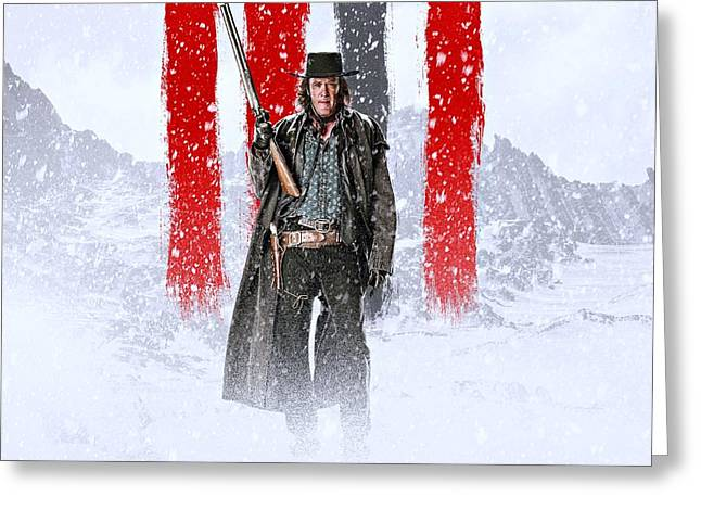 Michael Madsen The Hateful Eight Greeting Card by Movie Poster Prints