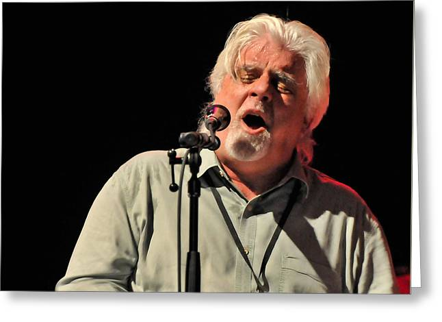 Michael Mcdonald At Tampa Bay Greeting Card
