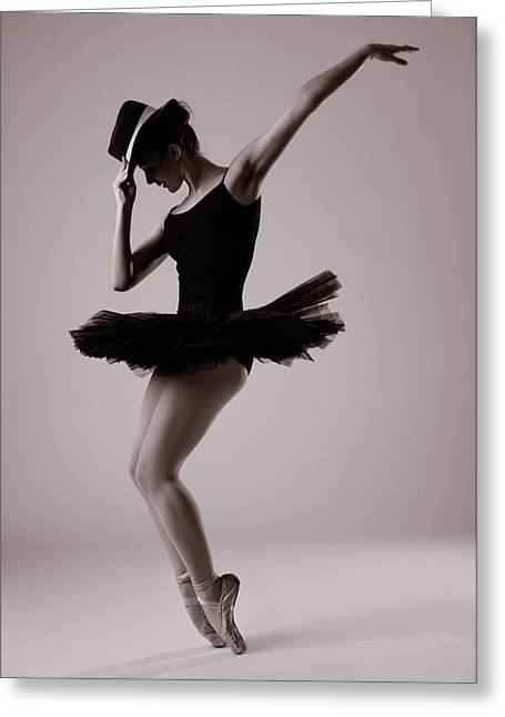 Michael On Pointe Greeting Card