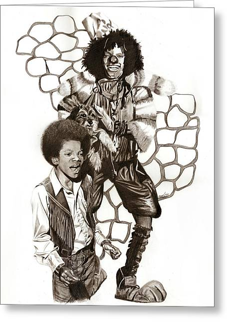 Michael Greeting Card by Terri Meredith