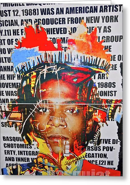 Michel Basquiat Greeting Card
