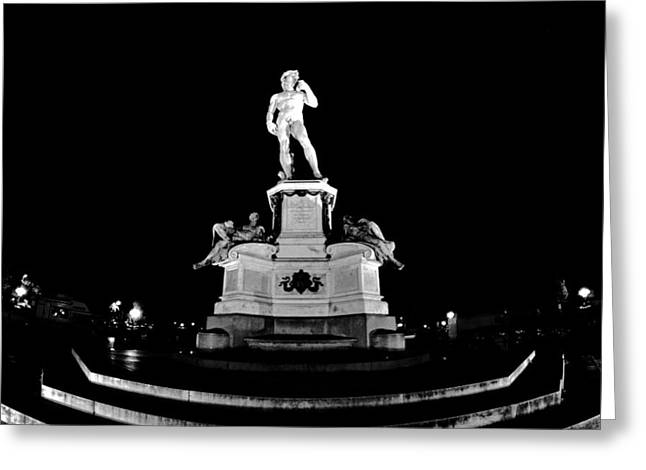 Michelangelo At Night Greeting Card