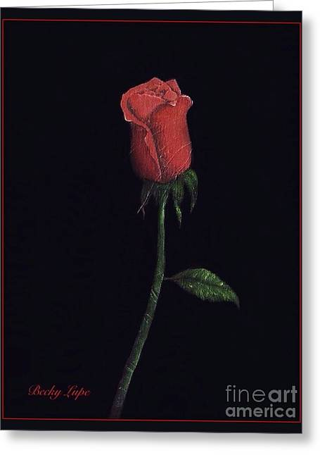 The Perfect Rose 2 Greeting Card