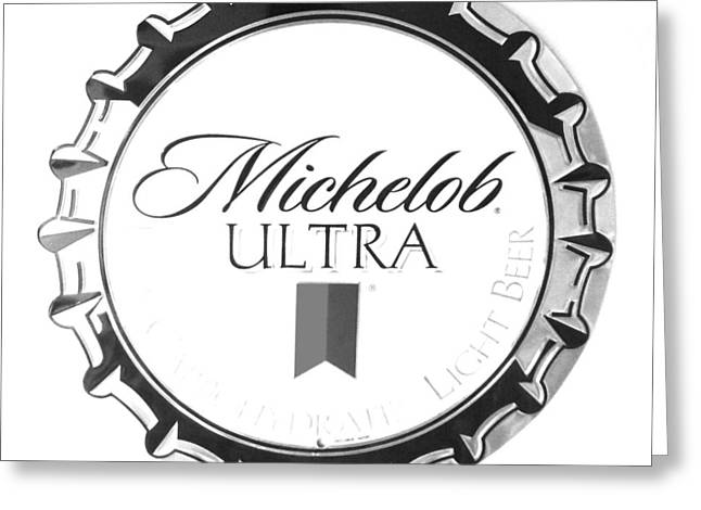 Michelob Ultra Greeting Card by Christopher Kerby