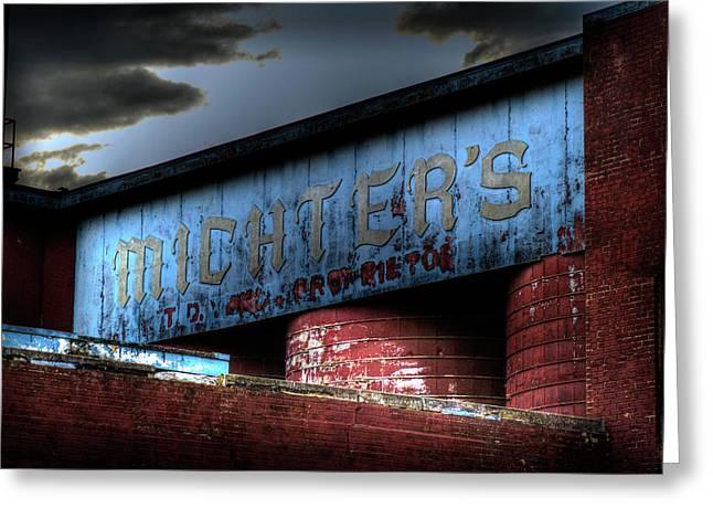 Michter's Brew Greeting Card by Scott Wyatt