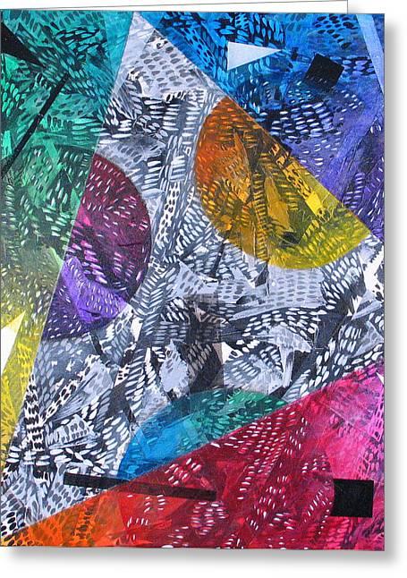 Microcosm Xx Greeting Card by Rollin Kocsis