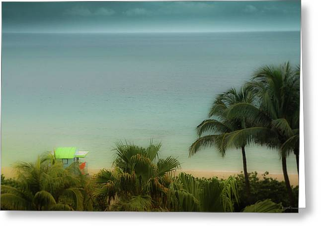 Mid-beach Miami-1 Greeting Card