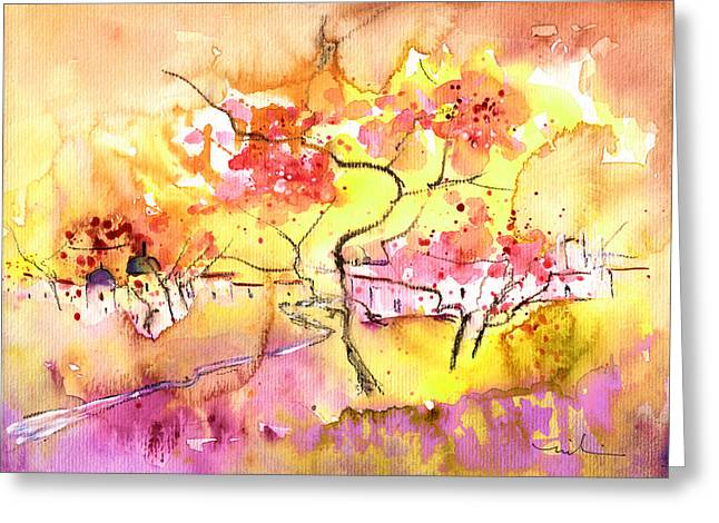 Midday 38 Greeting Card by Miki De Goodaboom