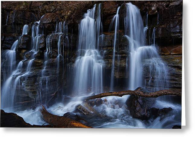 Middle Creek Falls Greeting Card