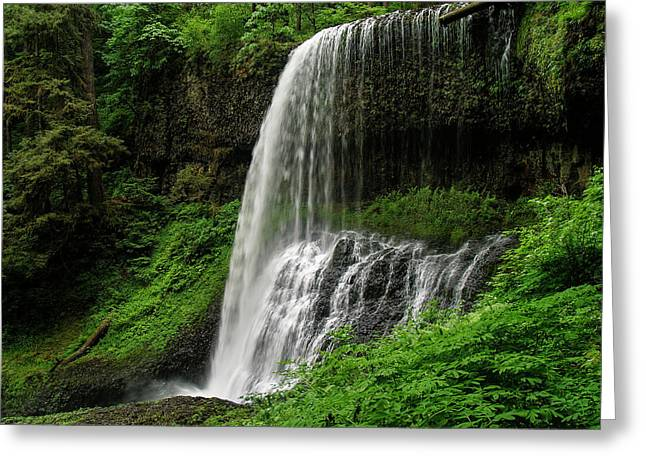 Middle Falls Greeting Card
